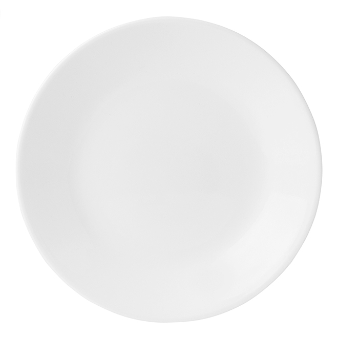Winter Frost White Bread and Butter Plate - 6 3/4''
