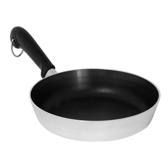 Fry Pan with Polished Revere - 8''