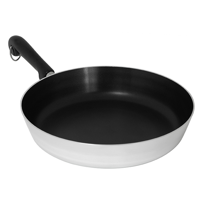 Fry Pan with Polished Revere - 12''