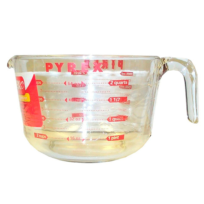 Bowl Batter with Measuring Cup - 2L