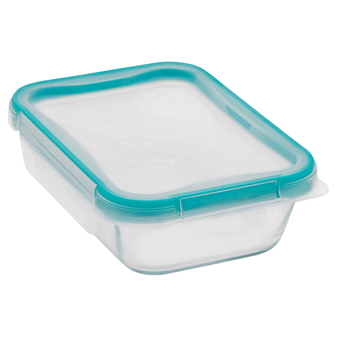 Rectangular Glass Food Storage - 2 Cup