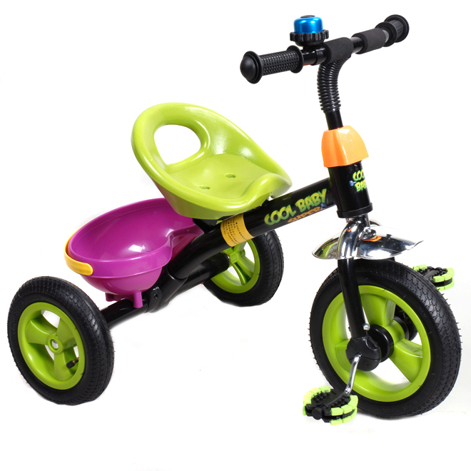 Tricycle with Basket - 10""