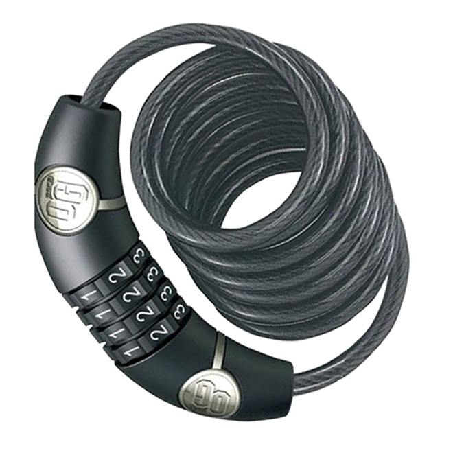 Bike Coil Cable with Combination Lock - OnGuard - 4 Digit