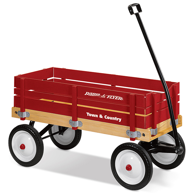 "Kid's Wagon - Town and Country - 36"" x 16 1/2"" x 9 1/2"""