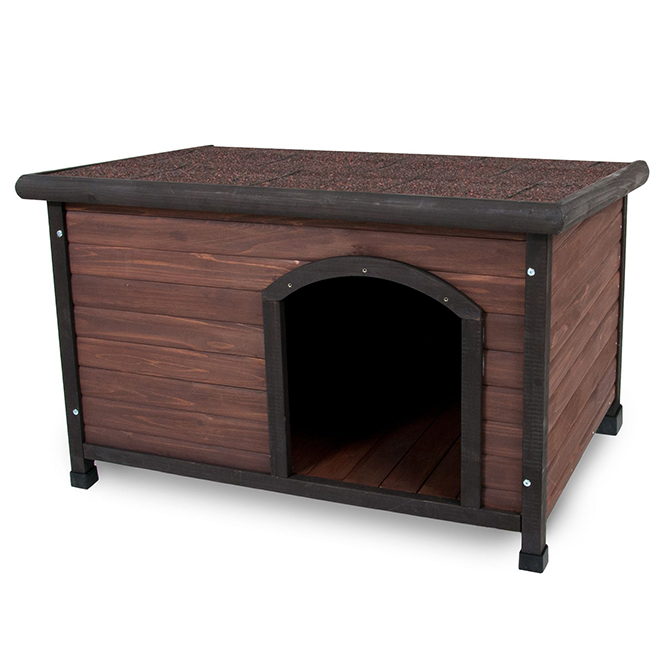 "Pet Offset Entry Dog House - 45 1/2"" x 31"" x 32.3"""