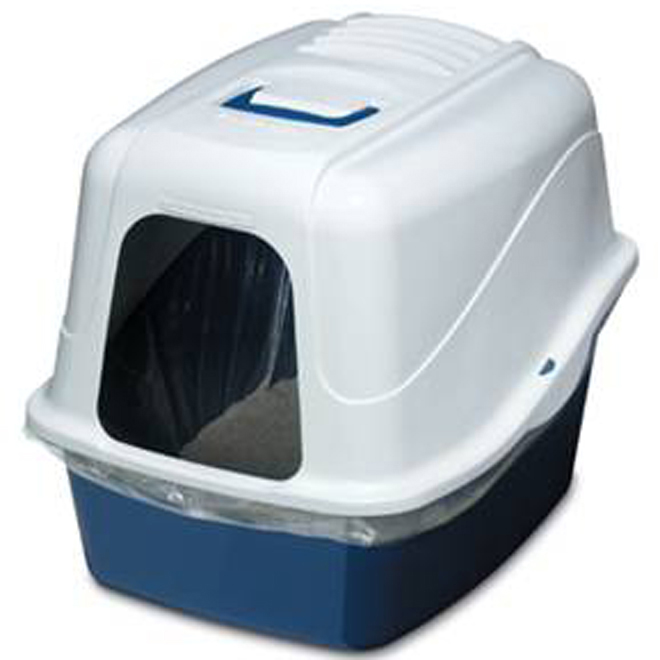 Large Hooded Cat Litter Pan
