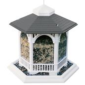 Deluxe Gazebo Bird Feeder - White