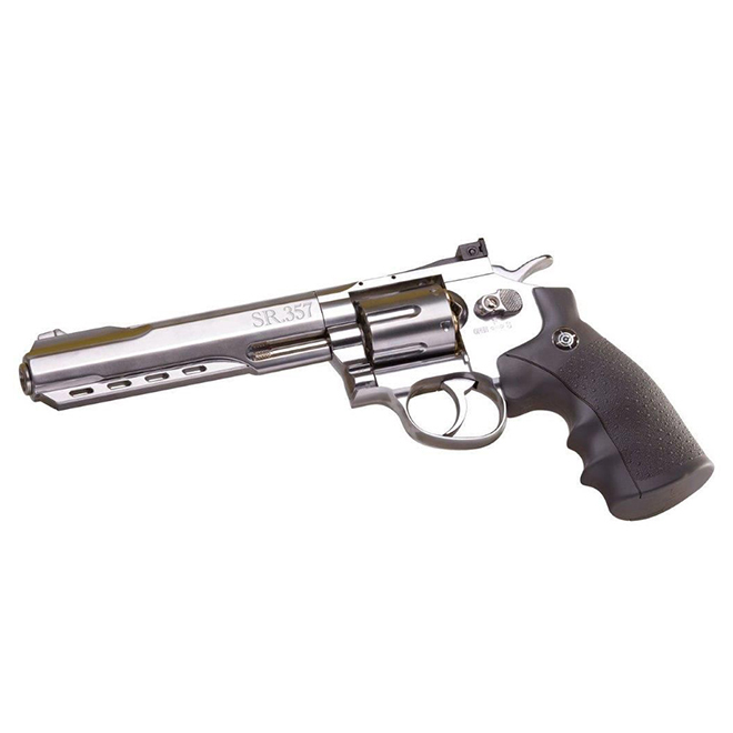 Pistol Air Gun - SR357 - 6 Shot - CO2 Semi-Auto - BB Caliber