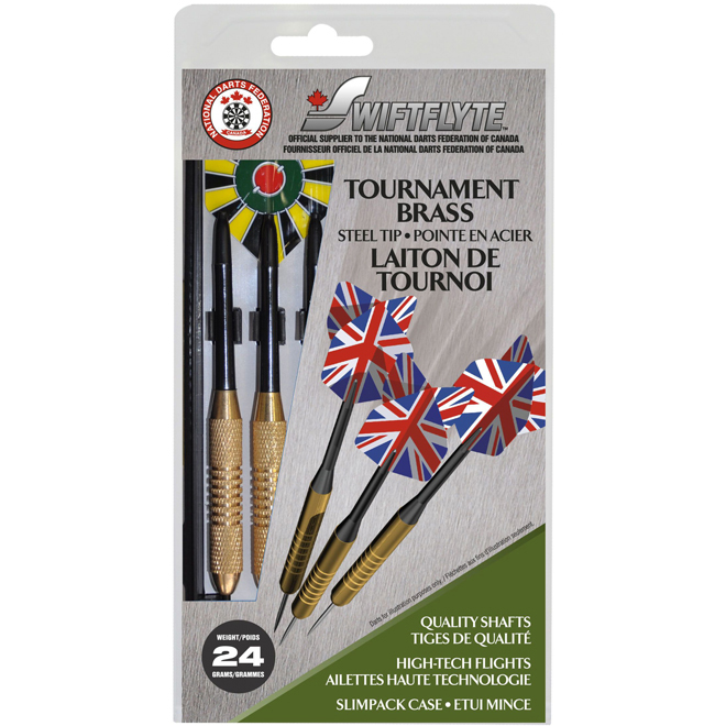 Dart Set - 26 GR - Hologram Flights - Steel Tip - 3/Pk