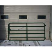 Fence Gate - Diamond Bar - 6 Bars - 14 GA Steel - 48