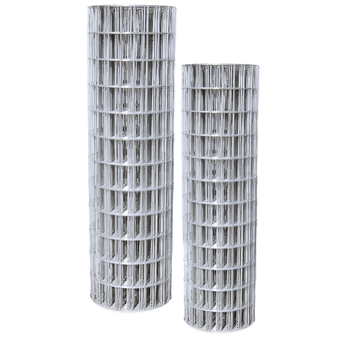 "Welded-Wire Fence - 14 GA - Zinc Coated - 2""x4"" - 72""x100'"