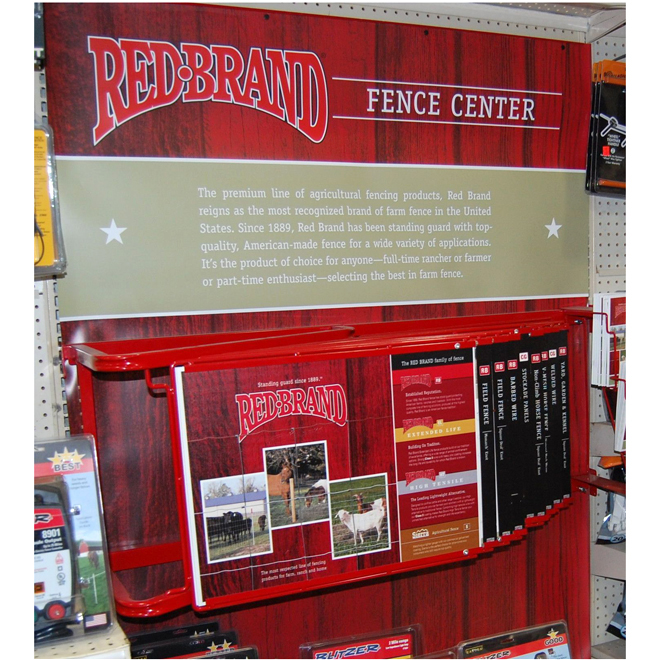 "Fence Centre Retail Display - 18"" x 4'"