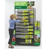 Lawn and Garden Fencing Display Rack and Inventory - 61