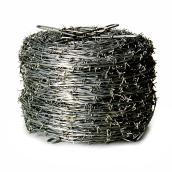 Barbed Wire - 2 Strand - 12 3/4 GA - Galvanized - 1320'
