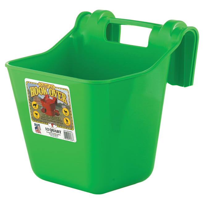 Hook-Over Feeder - 3 Gallons - Lime Green