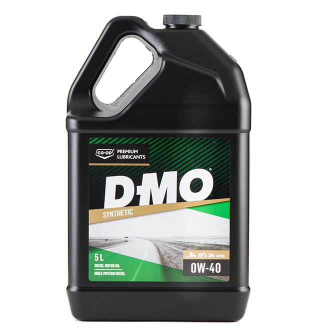Synthetic Diesel Engine Oil - D-MO Gold SL - 0W40 - 5 L