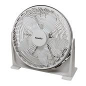Round Box Floor Fan - White - 20''