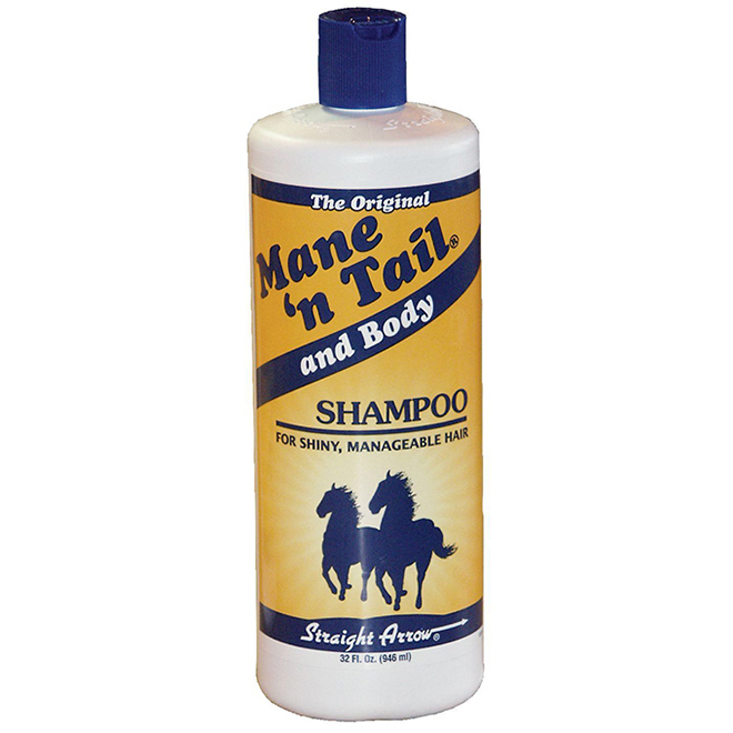 Shampoing pour crins de chevaux, Mane N Tail and Body, 1 L