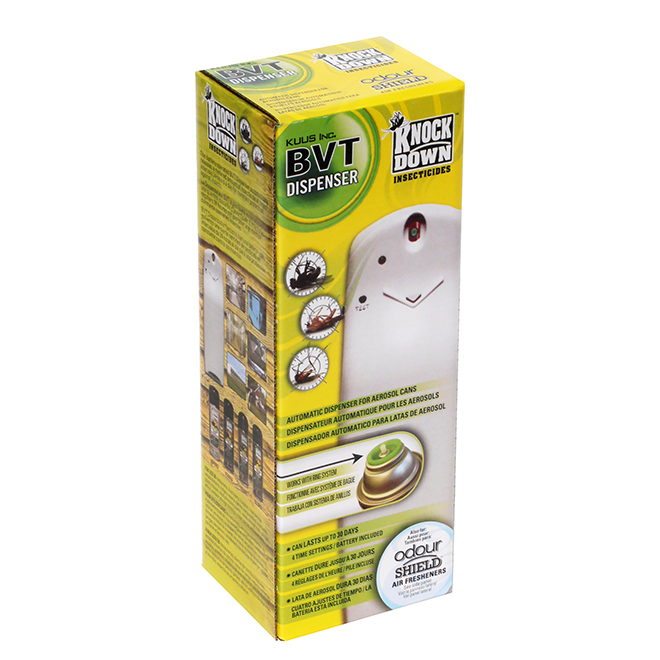 Insecticide Dispenser - Knock Down BVT - 212 g Can Capacity