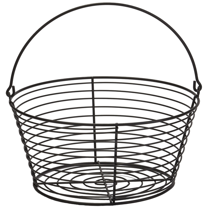 "Egg Basket - Coated Wire - Small - 8 1/2"" x 8"" x 5 5/8"""