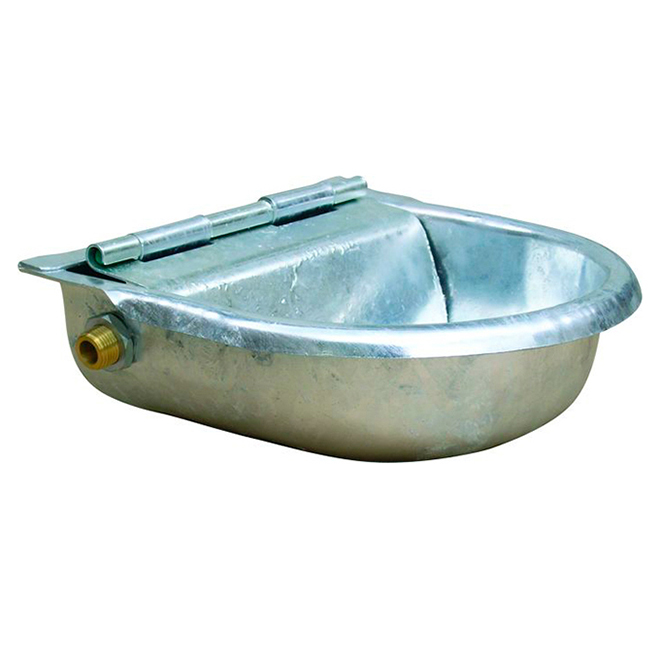 Water Float Bowl - Galvanized