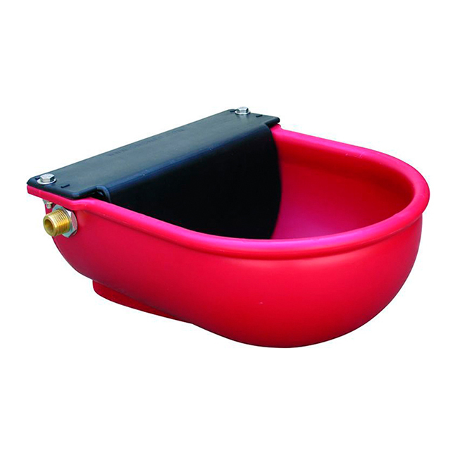 Cattle/Horse Waterer Float Bowl - Poly - 6 L/Min - Red