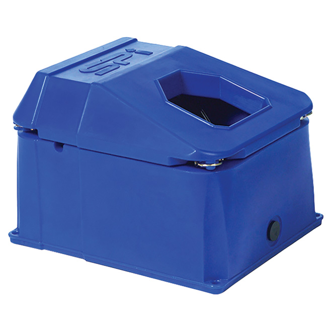 Energy-Free Waterer Bowl - 1 Hole - Poly - 64 L Capacity