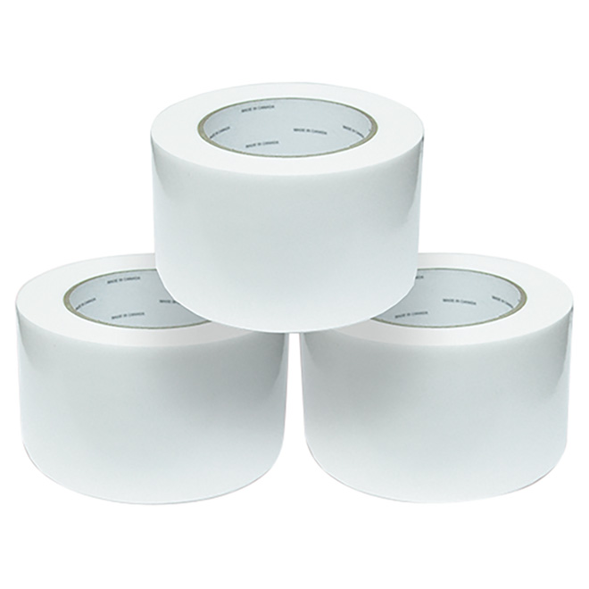 "Bale Wrap Tape - White - 3"" x 100'"