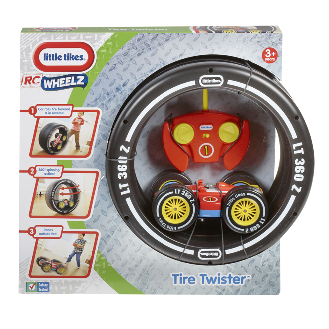 Remote Control Car Kit - Tire Twister - Ages 3+