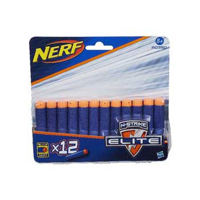 Nerf N-Strike Elite Blaster Darts - 12 Darts - Ages 8+