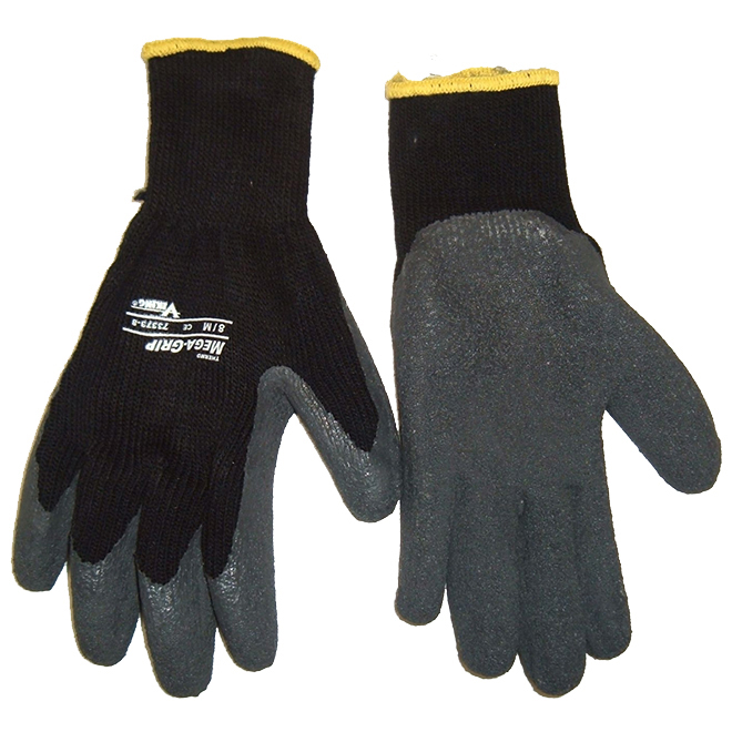 Thermal Rubber Coated Working Glove - Large