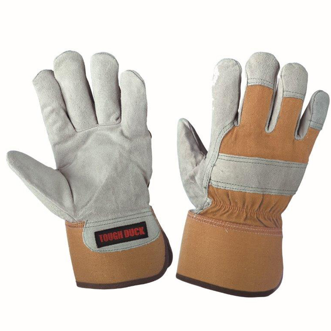Men's Split Leather Combo Lined Fitter Work Gloves
