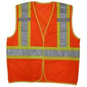 Open Road Unisex Security Jacket - Orange - XXL/XXXL