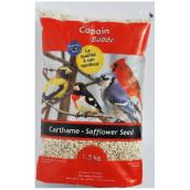 Safflower Seed Wild Bird Food - 1.5 kg