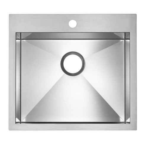 Single Sink Precision - Stainless Steel - 22 x 20""