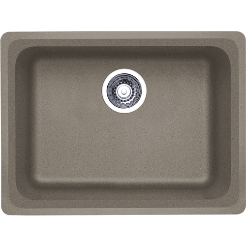 Single Sink Vision - Silgranit® - Truffle - 24 x 18""
