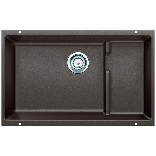 Single Sink Precis - Silgranit® - Café - 28.75 x 18""