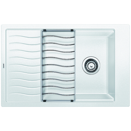 Single Sink Precis - Silgranit® - White - 30.75 x 19.75""