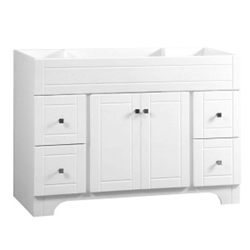 Mirano Vanity 2 Door And 4 Drawers - White Lacquer MDF
