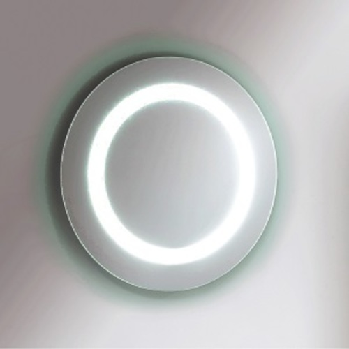 Relax Round Mirror - Frameless - With Light