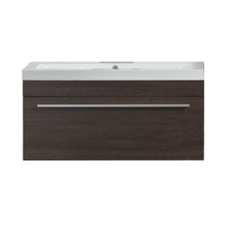 Relax Wall Mounted Vanity Set 1 Drawer - Alamo Oak