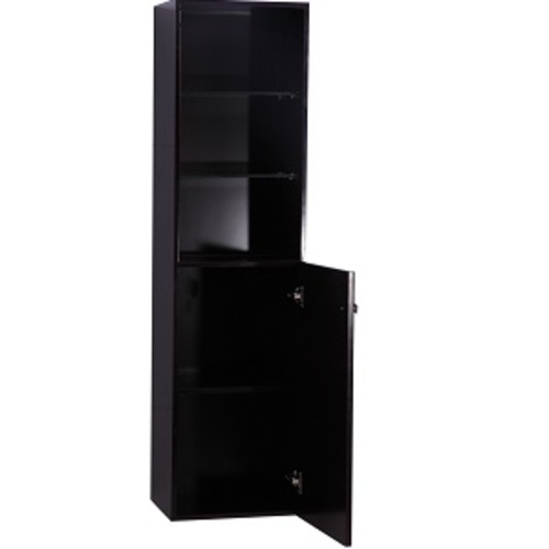 Smally Medicine Cabinet 2 Doors - Brown Lacquered