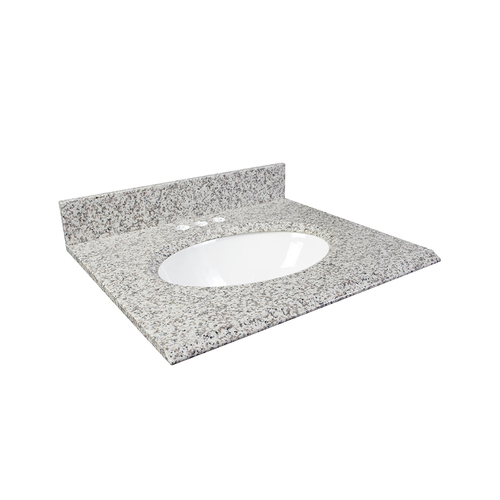 "25"" Vanity - Top China Undermount Sink - White Ash"