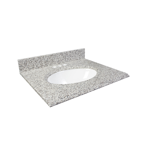 "31"" Vanity - Top China Undermount Sink - White Ash"