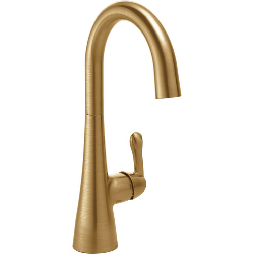 Single Handle Bar/Prep Faucet - Champagne Bronze