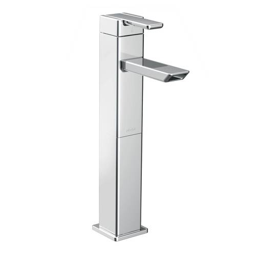 "One-Handle Bathroom Faucet - ""90 Degree"" - Chrome"