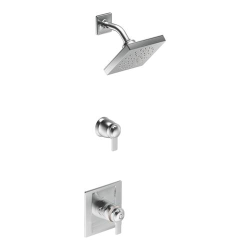 Douche ExactTemp(MD) « 90 Degree », chrome - Plomberie brute non incluse