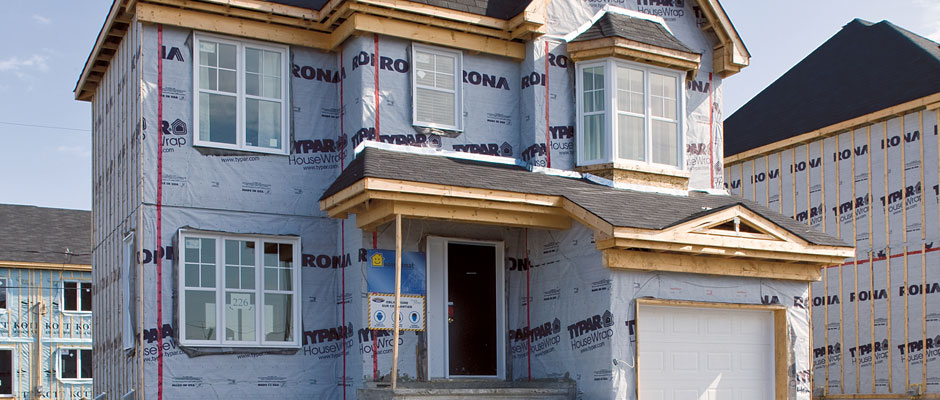 House in construction - RONA