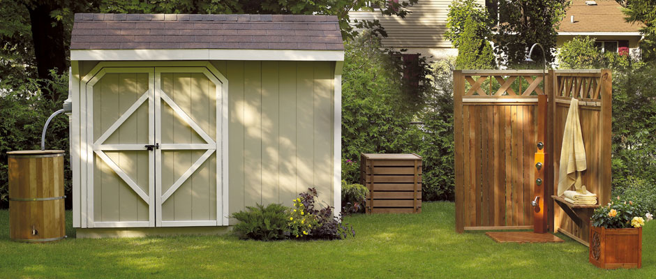 farm style charming shed in back yard - Garden Sheds Edmonton