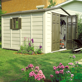 Build a sturdy foundation for your shed.
